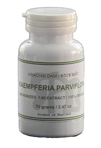 Tongkatali.org's Kaempferia Parviflora (Krachai Dam, Black Ginger) Extract, 70 grams (2.47 oz)