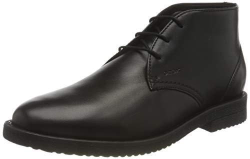 Geox Herren U BRANDLED B Chukka Boot, Black, 44 EU