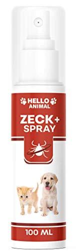 NEU: HelloAnimal® Anti ZECKEN Spray für Hunde und Katzen mit Sofortwirkung – natürliche Behandlung für Ihr Haustier – Schutz hochwirksam