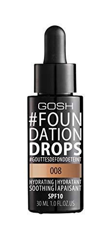 GOSH Foundation Drops 30ml Honey 008
