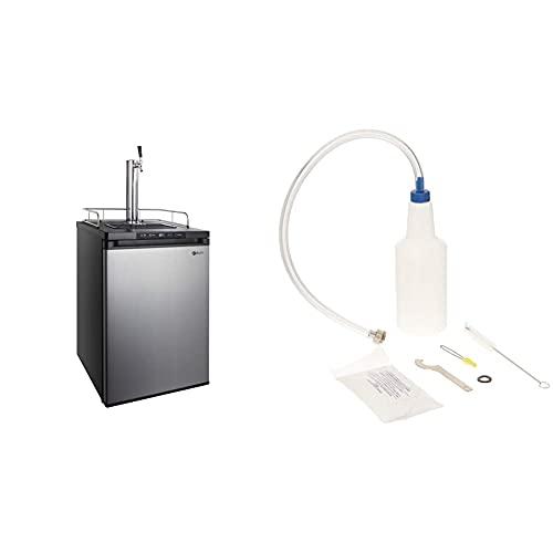 Kegco K309SS-1 Keg Dispenser & Taprite Kegerator Cleaning Kit