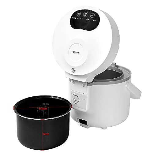 Mishcdeaおひとりさま炊飯器0.5~3合24時間予約保温予約少量炊きミニ炊飯器キッチン家電炊飯多機能炊飯器炊飯器ひとり暮らし用