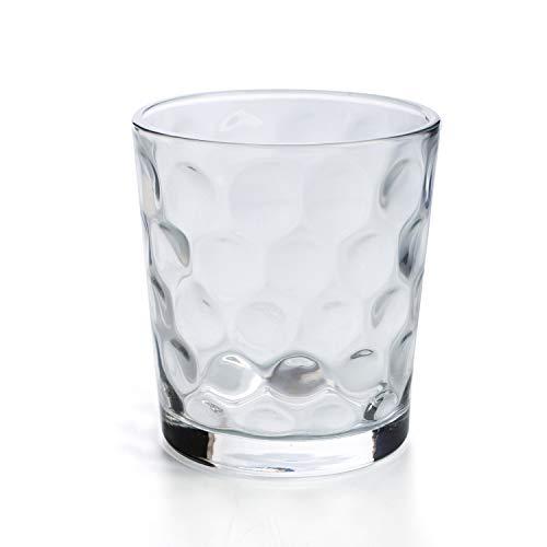 Quid Kata - Set 6 vasos forma baja 26cl, Aptos para lavavajillas, vidrio