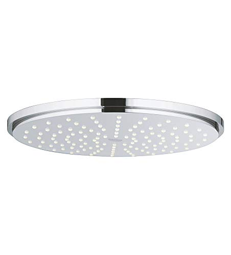 GROHE 27814001 Rainshower 210 Shower Head 1 Spray, StarLight Chrome