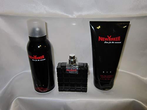 New Yorker NewYorker Deodorant + Duschgel + 50 ml Eau de Toilette geschenkt