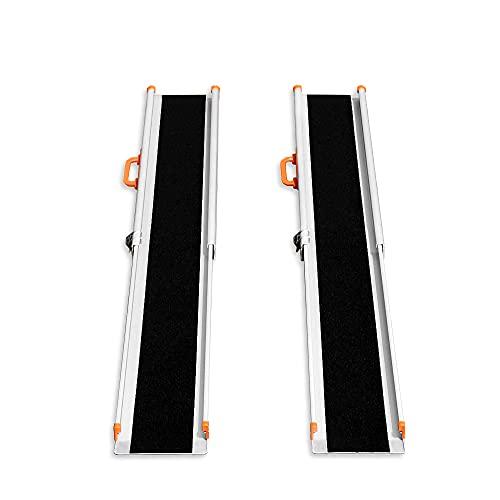 LIEKUMM 2 x Rampa de carga antideslizante, portátil, portátil, portátil, para...