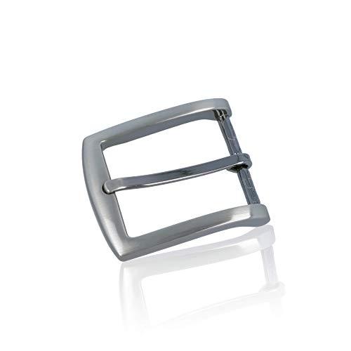 Gürtelschnalle Buckle 35mm Metall Silber - Buckle Facile - Dornschliesse Für Gürtel Mit 3,5Cm Breite - Silberfarben
