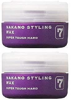 【X2個セット】 ナカノ スタイリング ワックス 7 スーパータフハード 90g