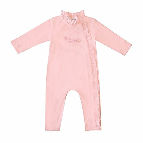 Small Wonders Nina&Nelli Baby Girls Sleeper Pajamas Size 6/9 Months Pink
