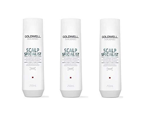 Goldwell 3 er Pack Goldwell Dualsenses Scalp Specialist Anti-Dandruff Shampoo 250 ml