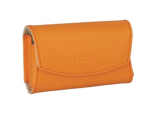 Nikon CS-S19 Ledertasche für Nikon Coolpix S3000/S4000 orange