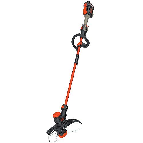 BLACK+DECKER 60V MAX String Trimmer Kit with EASYFEED, 13-Inch (LST560C)