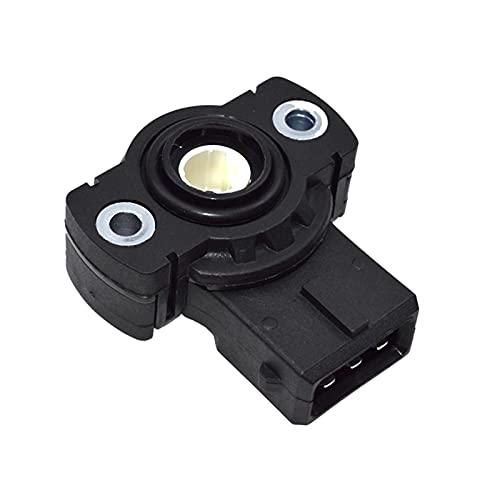 YANGLI WanLiTong Sensor de posición del Acelerador TPS Ajuste para BMW 3 5 7 8 Series E30 E36 E34 E39 E32 E38 Z3 M3 Oe # 13631726591, 13631721456 (Color : Black)
