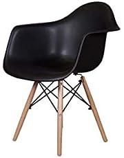 Mahmayi Ultimate Eames Style Daw Armchair (Black)