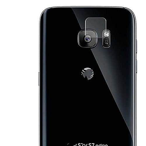 Vaxson 2 Unidades Protector de Lente de Cámara, compatible con Samsung Galaxy S7 Edge SCV33 SC-02H [No Vidrio Templado/Funda Case ] TPU Película Protectora