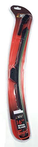 Wiper Blades Universele Accessoires. Deze Aero platte messen zijn perfect voor alle soorten weer, hoge kwaliteit ruitenwissermessen, verbeterde duurzaamheid 16