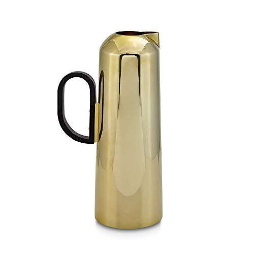 Tom Dixon - Form - Kanne - Teekanne - Messing - Farbe: Gold - Ø 8,8 cm - Höhe 22,5 cm