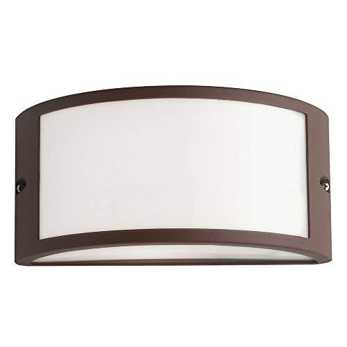 Fan Europe - I-austin-ap bro - Applique extérieure diffuseur polycarbonate profil aluminium bronze e27