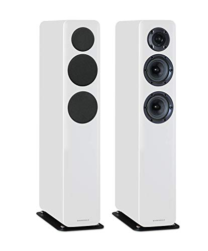 Wharfedale D330 - Altavoces (2 unidades), color blanco
