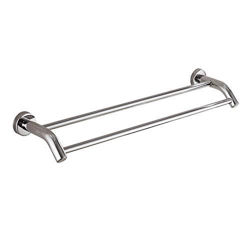 Barra de toalla de acero inoxidable 304 Unipolar doble polo baño toallero 70 CM doble polo Toalla colgando