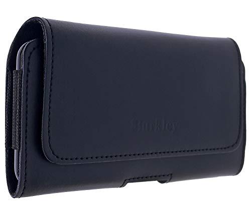 Burkley Gürteltasche für Samsung Galaxy S20+ Handyhülle Holster Schutzhülle geeignet für Galaxy S20 Plus Hülle mit Gürtel-Schlaufe (Schwarz)