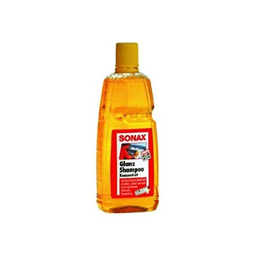 SONAX Brillo Champú Concentrado. fosfato Libre. 1l Botella de Pet,