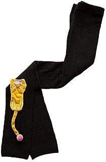 Niños Invierno Grueso Calentar Pantimedias Chicas Niñas Calcetines y Medias de Algodón Gato Bordado Dibujos Animados para Bebés Niño Niña Tejer Elásticos Polainas Leggings Leotardos
