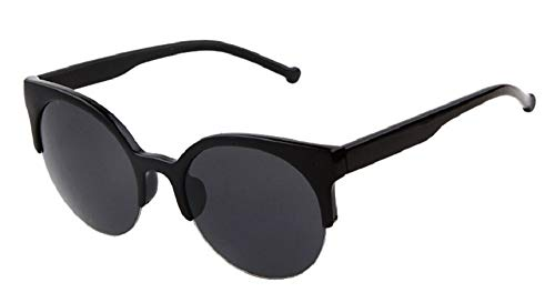Gafas de sol mujer - gato - años 60 - vintage - retro - Cat eyes - redondos - ojos de gato - mariposa - niña - moda - montura negra - lente negra