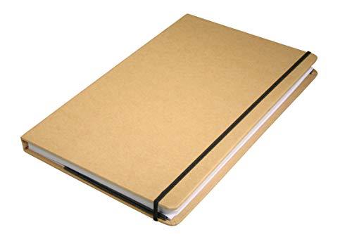 Rayher Carnet en papier Kraft 100 feuilles 13x21 cm