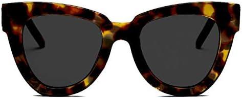Dollger Retro Cat Eye Sunglasses Women Men Oversized Square Tortoise Shell Cateye Sunglasses product image