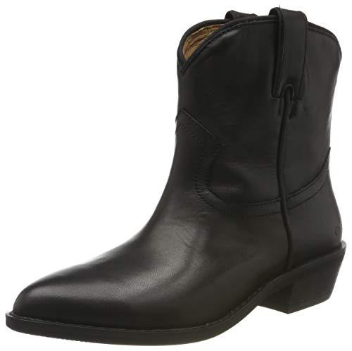Buffalo Damen FAM Cowboystiefel, Schwarz (Black 001), 37 EU