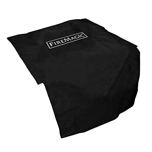 Fire Magic Vinyl Grill Cover for Double Side Burner, Bar Caddy, and Searing Station (3276-5F)