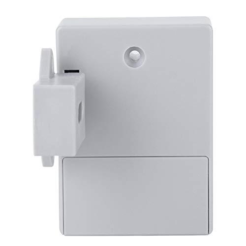 Vipxyc Cerradura Digital de plástico ABS Cerradura Digital Cerradura Digital DIY Cerradura de gabinete RFID con Kit de instalación para el hogar, Hotel, masajes