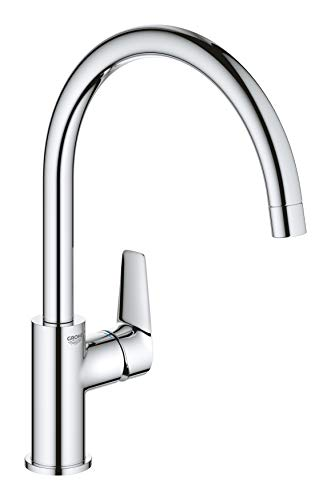 GROHE 31369001 Start Edge OHM sink C-spout armatuur, chroom
