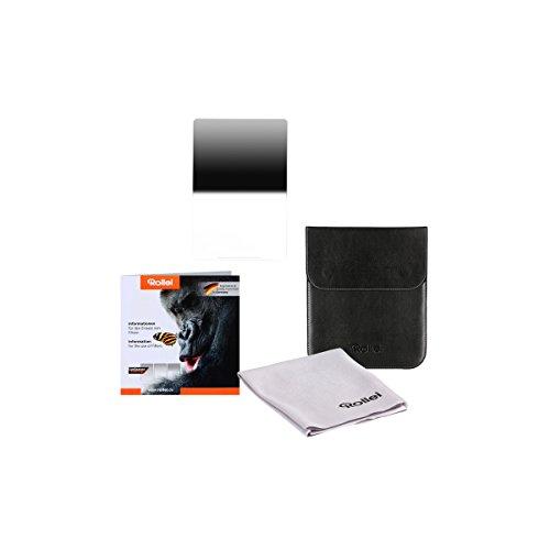 Rollei Filtro rectangulares profesionale Mark II - Filtro de Densidad Neutra Graduado (100x150 mm) Gorilla Glass con gradación reversa - Reverse GND 32 (5 Stops/1,5) Sistema 100 mm