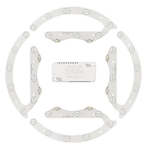 GYLTFL LED de Repuesto en el Lugar de la Plafon, Kit de Conversión para Plafón Redondo, para Iluminación Interior y Exterior Lámparas, Kit de Conversión con Soporte Magnético