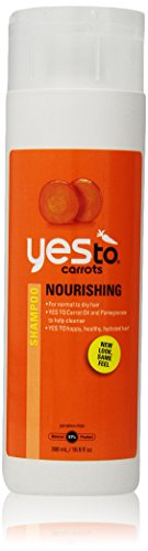 Yes To Carrots Nourishing Shampoo for Normal to Dry Hair, 16.9 Fluid Ounce