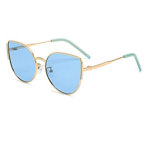Kunfang Gafas de Sol para Niños Niñas Niños Metal Protección UV Polarizada Rosa Negro Gafas de Sol para Niños Accesorios Verano 3030