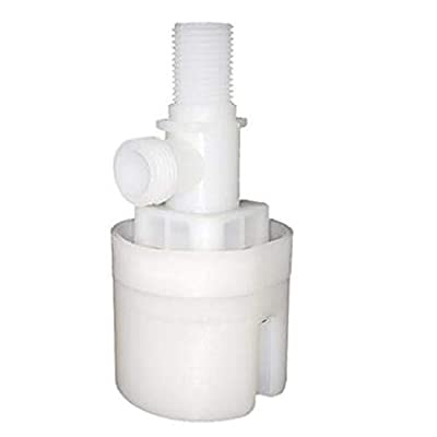 1/2 inch Float Valve, Water Level Control Box Upgraded Version of Traditional Float Valve (1 Pack) by xing