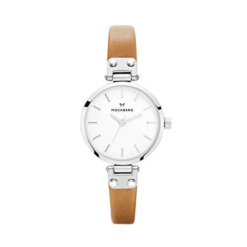 Mockberg Damen Digital Quarz Uhr mit Leder Armband MO206