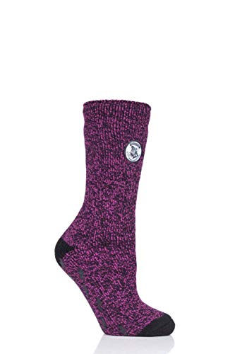 HEAT HOLDERS Damen Harry Potter Thermische Socken Rutschfeste Sohle Packung mit 1 Multi 37-42