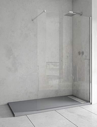 MaxLine TALA douchescherm, 1 vast lemmet, 6 mm veiligheidsglas de 90 cm