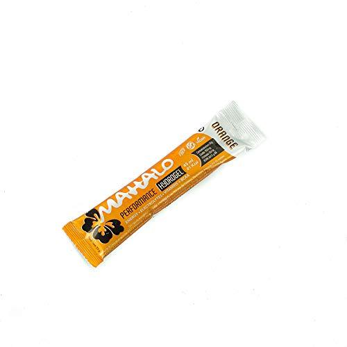 MAHALO PERFORMANCE BCAA HYDROGEL. (1 x 45 ml.). Sabor Naranja. Gel energético con BCAA, Carbohidratos, Electrolitos y Vitamina C. VEGANO Y SIN GLUTEN