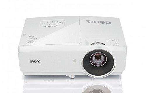 BenQ MH750 3D DLP-Projektor (3D Beamer, Full HD 1920 x 1080 Pixel, 4500 ANSI Lumen, Kontrast 10.000:1, 2x HDMI, MHL, 2D Keystone, 1,3x Zoom) weiß