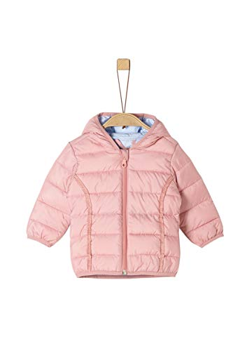 s.Oliver RED LABEL Junior Unisex - Baby Steppjacke mit Kapuze light pink 80
