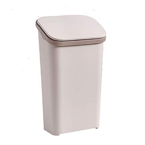 XiuHUa Prullenbak, Nordic minimalistische stijl huis geschikt voor woonkamer keuken badkamer kantoor hotel school 20 liter vuilnisbak, drie kleuren optionele Afval recycling