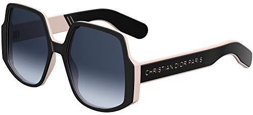 Dior INSIDE OUT 1 BLACK PINK/BLUE SHADED 57/19/145 Damen Sonnenbrillen
