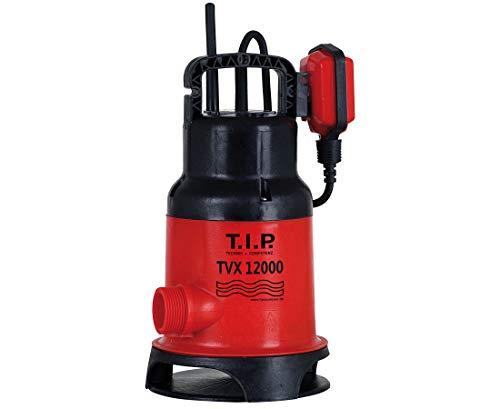 T.I.P. 30261 Schmutzwasser Tauchpumpe TVX 12000, bis 10.800 l/h Fördermenge