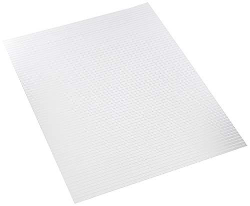 Vivak Platte 495 x 1000 x 1,0 mm PET-G transparent Kunststoff Tiefziehen