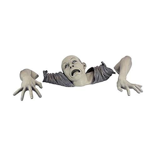 Statue da giardino Taloit, Lo zombie di Montclaire Mori Statua Giardino Resina Scultura Outdoor Halloween Decorazione